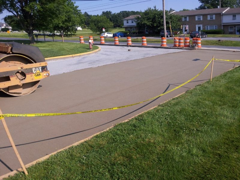 Roller Compacted Concrete Specifications : Sycamore street project incorporates roller… specify