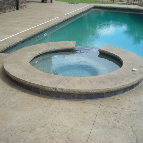 Decorative Concrete Pool
